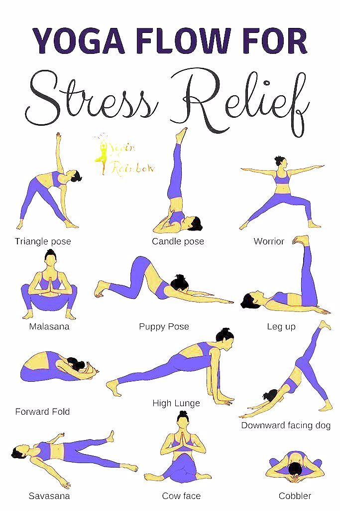 Photo of 16 Yoga Poses for Stress Relief – Yogin Rainbow