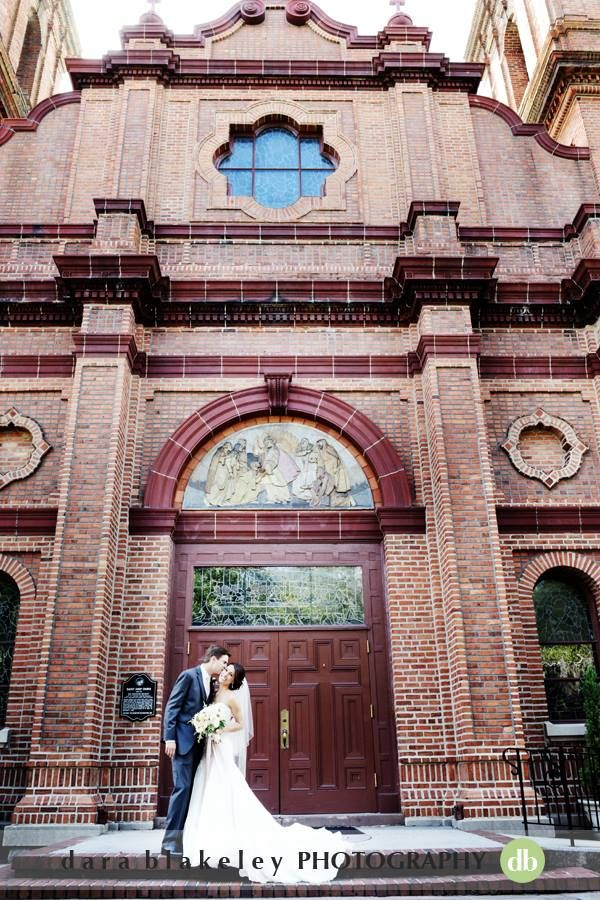Wedding Ceremony in downtown Wilmington. August 10, 2013