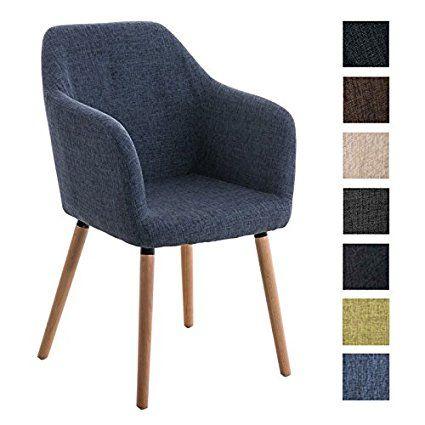 Clp Chaise De Visiteur Picard Design Moderne Pietement En Bois Revetement En Tissu Tres Bien Rembourree Bleu Home Bedroom Chairs Armchairs Chair