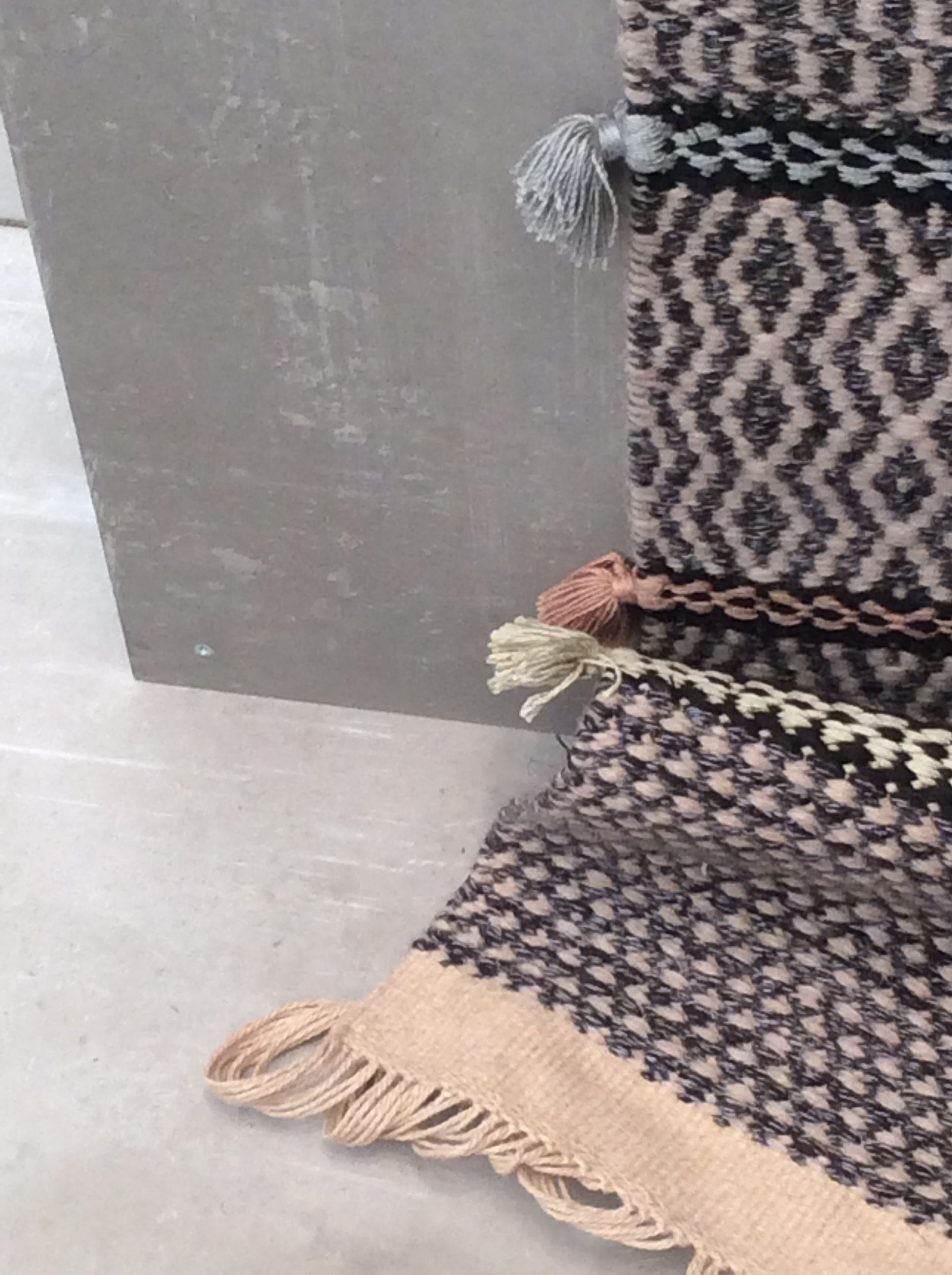 Tapetes Portuguesas Handmade By Artisans Using Traditional Loom Textile Is