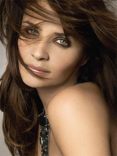 helena christensen danish fashion model | Adam wants me to look like this. Darker hair would set of the eyes....