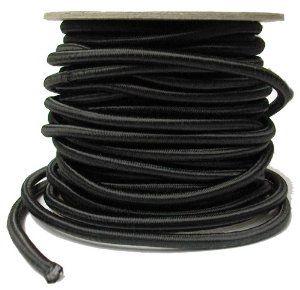 Shock Cord Elastic 1007n Black 1 4 By Vogue Fabrics 1 79 Shock Cord Elastic 1007n Black Only 1 4 70 Polyester And 30 Rubber Machine Wash And Dry