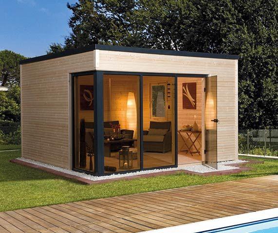 Gartenhaus ganz einfach selber bauen in 2019 Holzhaus