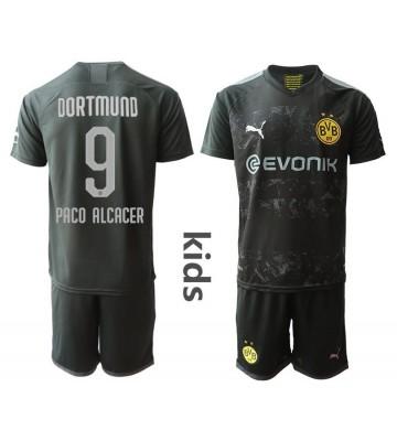 Borussia Dortmund Paco Alcacer #9 Bortatröja Barn 2019/20 ...