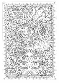 Bookthumbs Detailed Coloring Pages Coloring Pages Flower Coloring Pages Most of our visitors keep coming back daily. detailed coloring pages coloring pages