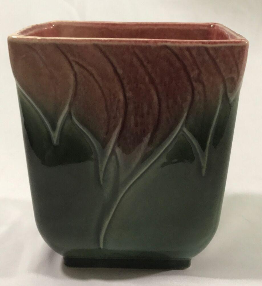 Vintage Hull Pottery Planter, Designer 116, Rectangular
