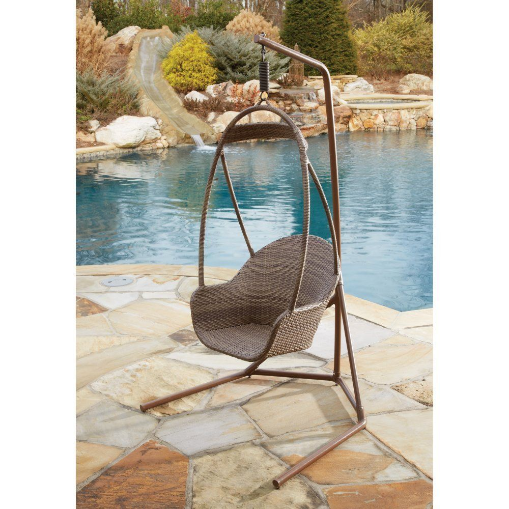 Wicker hanging chair woven home galore pinterest hanging chair