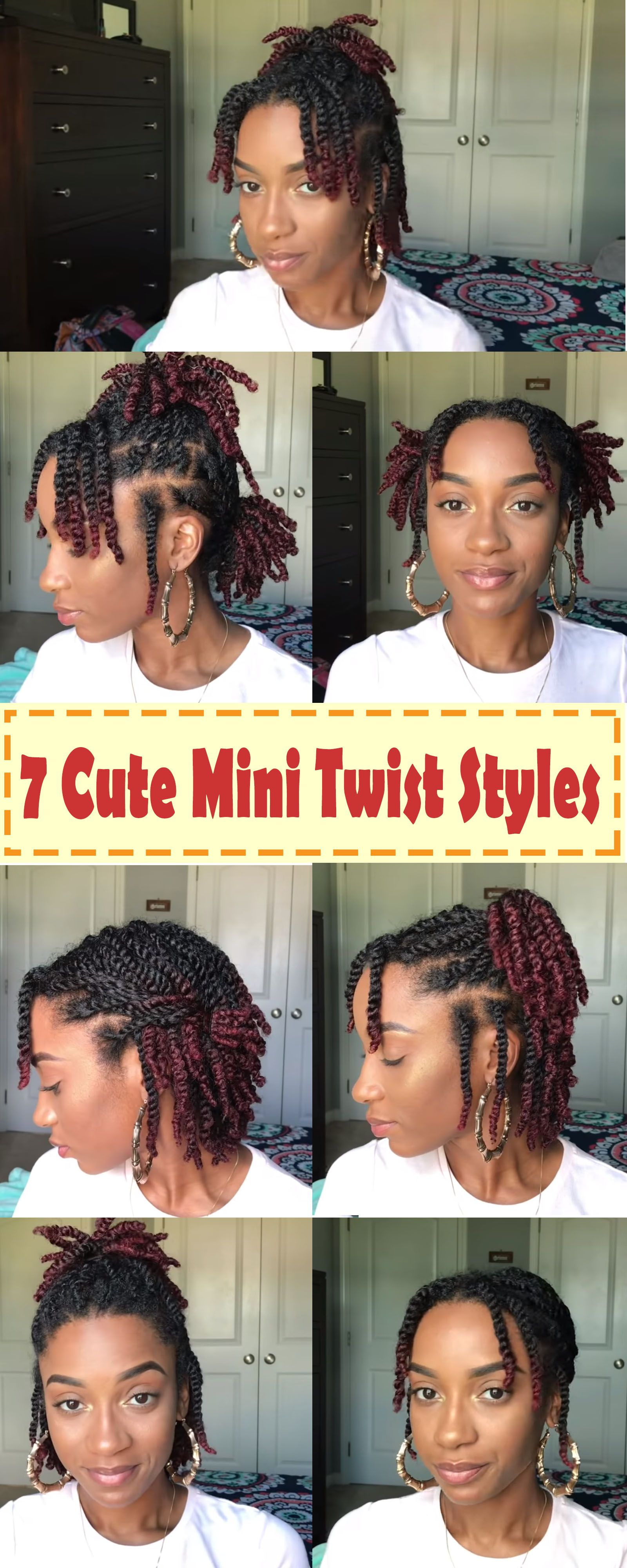 quick and easy styles you can do with your mini twists