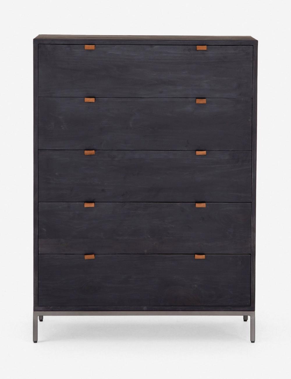 Rosamonde 5 Drawer Dresser Wooden Dresser 5 Drawer Dresser Dresser [ 1300 x 1000 Pixel ]