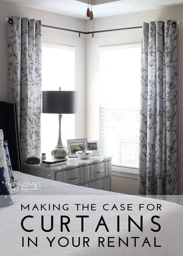 Making The Case For Hanging Curtains In Your Rental Corner