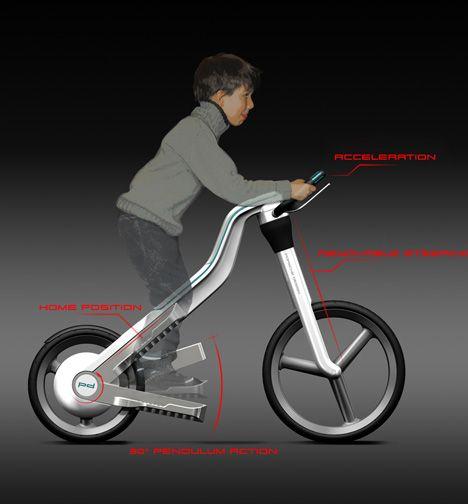 Taurus Pleasure In Movement By Julia Meyer Yanko Design Bicycle Design Bike Design Bike