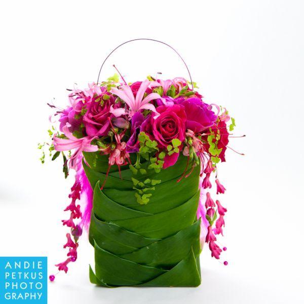 fushia flower purse, Françoise Weeks