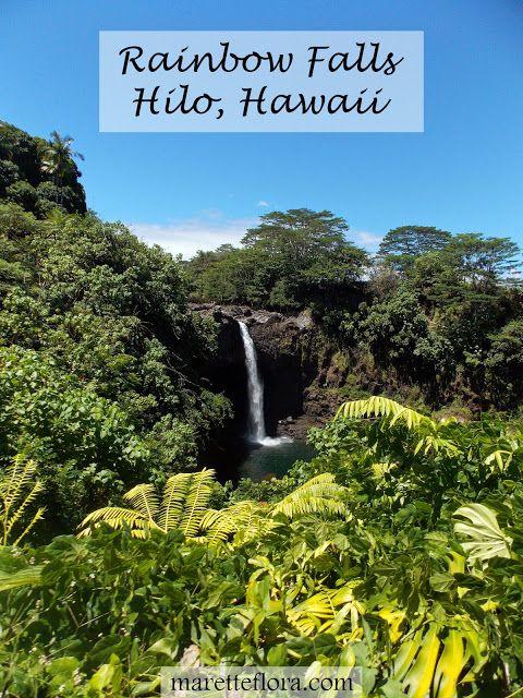 Exploring Hilo, Hawaii #rainbowfalls