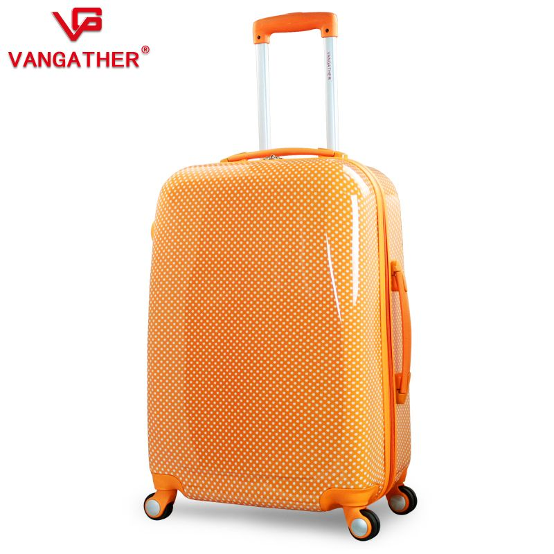 New-VANGATHER-top-quality-ABS-24-travel-bag-rolling-luggage ...