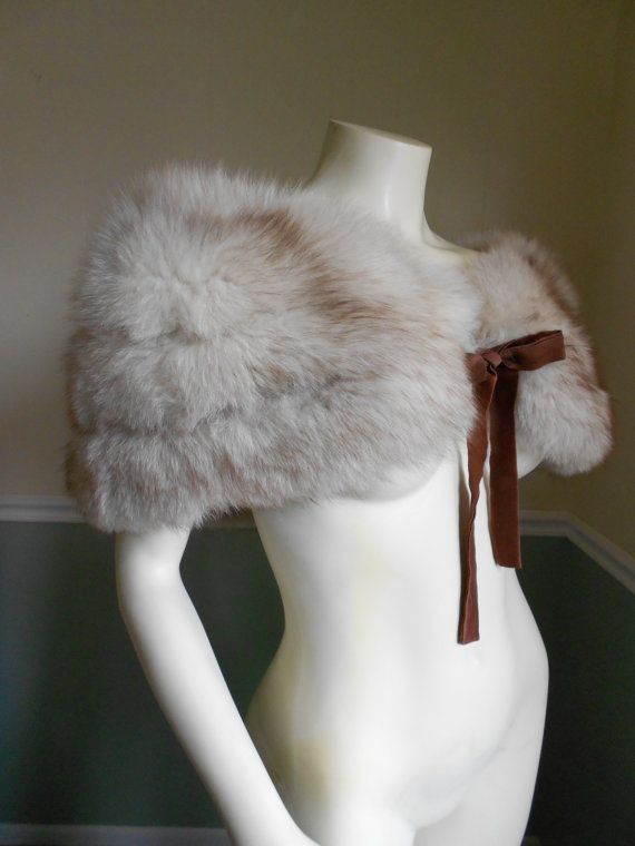 Fox Fur Stole / Vintage  Fox Stole by Tootiescloset on Etsy, $149.00