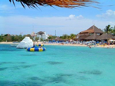 Loved Visiting This Beach On Cozumel When The Kids Were A Little Younger Fun And Beautiful