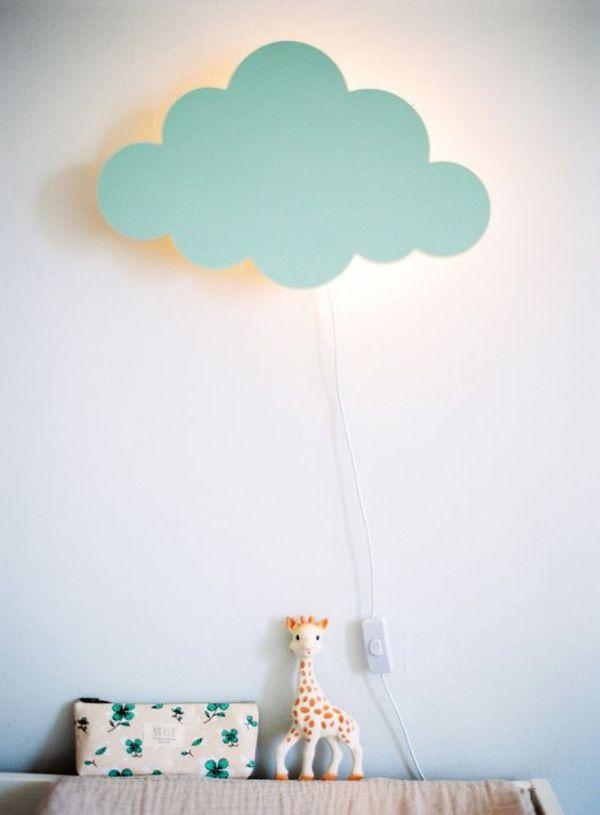 Nuevas ideas románticas para iluminar el cuarto del bebé ...