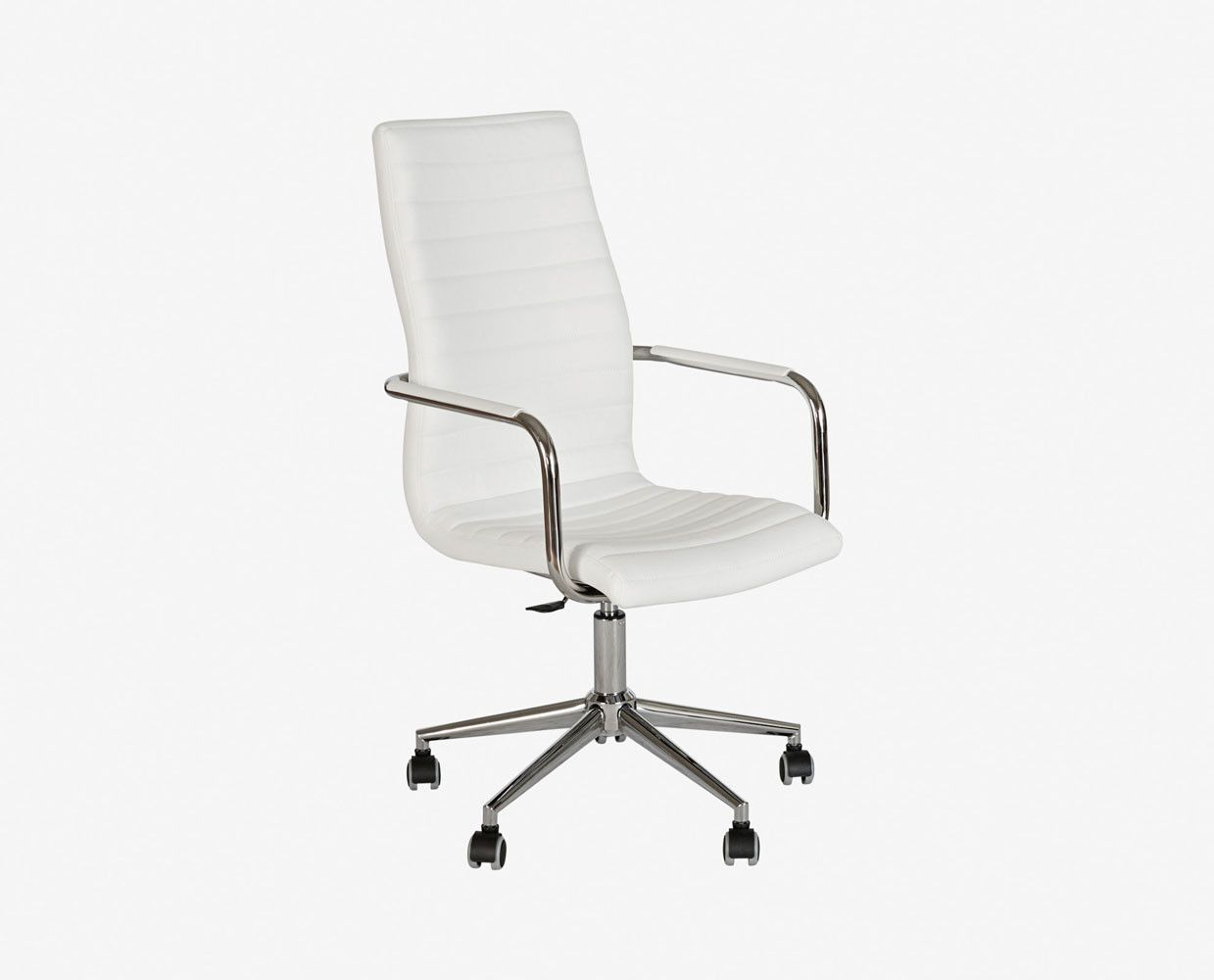 Kontor High Back Desk Chair  Chair, Teak dining chairs
