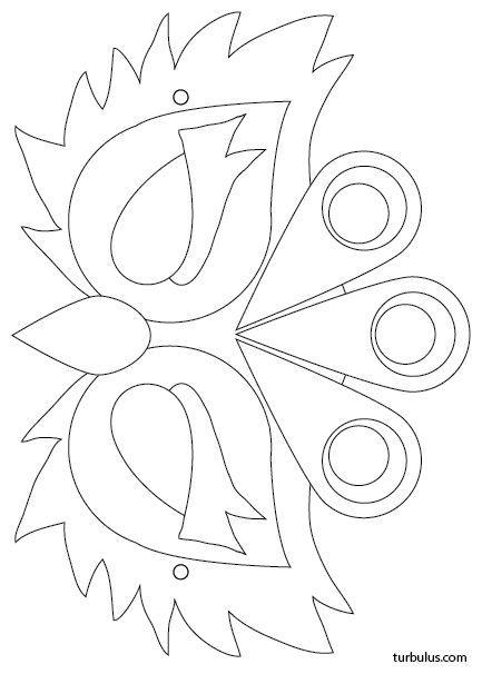 masque  u00e0 imprimer en noir et blanc   u00e0 colorier puis
