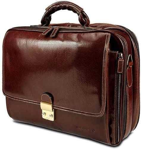 d3fe2daa8c8 Portafolio Cuero Porta Laptop 17 Maletin Attache Cosogi