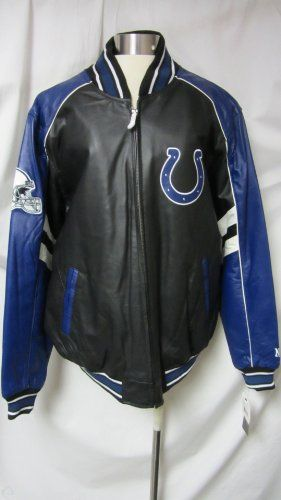 official photos 62fb4 70272 Indianapolis Colts Leather Jacket | NFL Leather Jackets ...