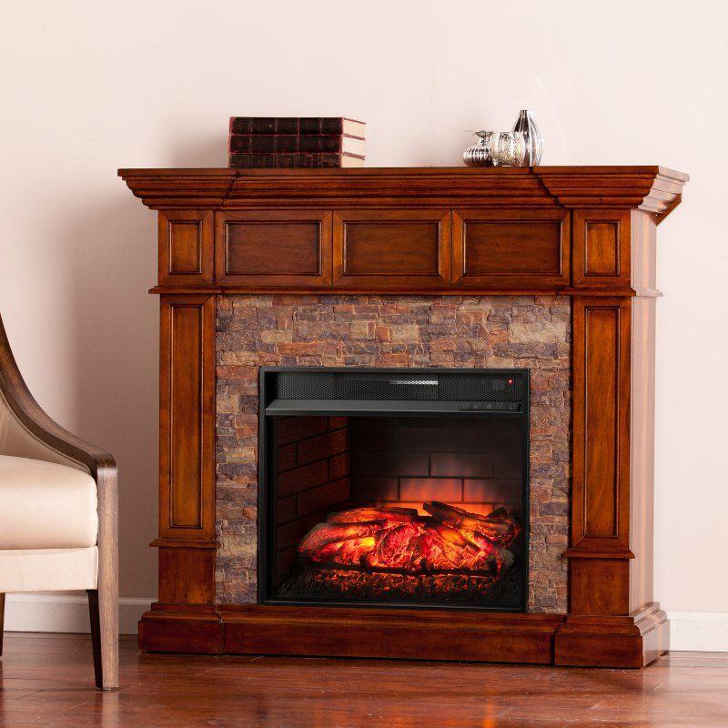 Southern Enterprises Merrimack Infrared Electric Media Fireplace - FI9638