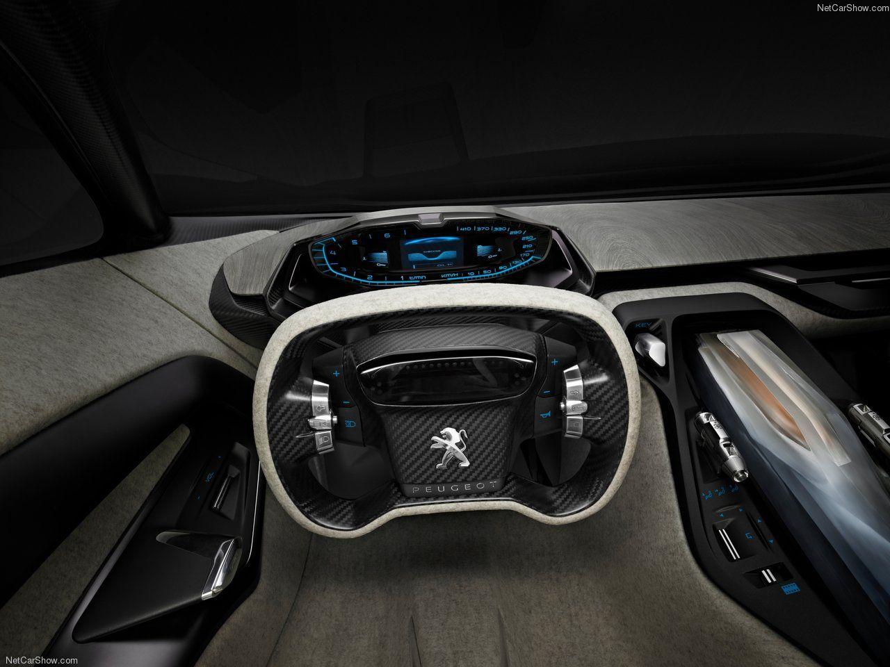 Peugeot Onyx Concept Futuristic Interior 2012 1280x960 Future