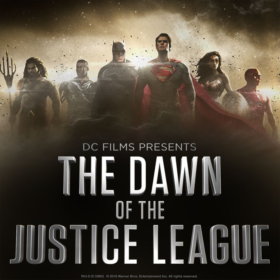 First concept art of The Dawn of the Justice League