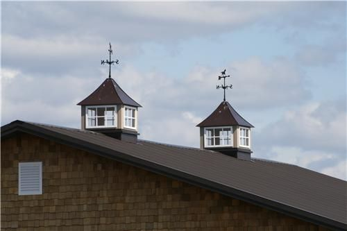 Metal Buildings With Living Quarters Metal Cupola And