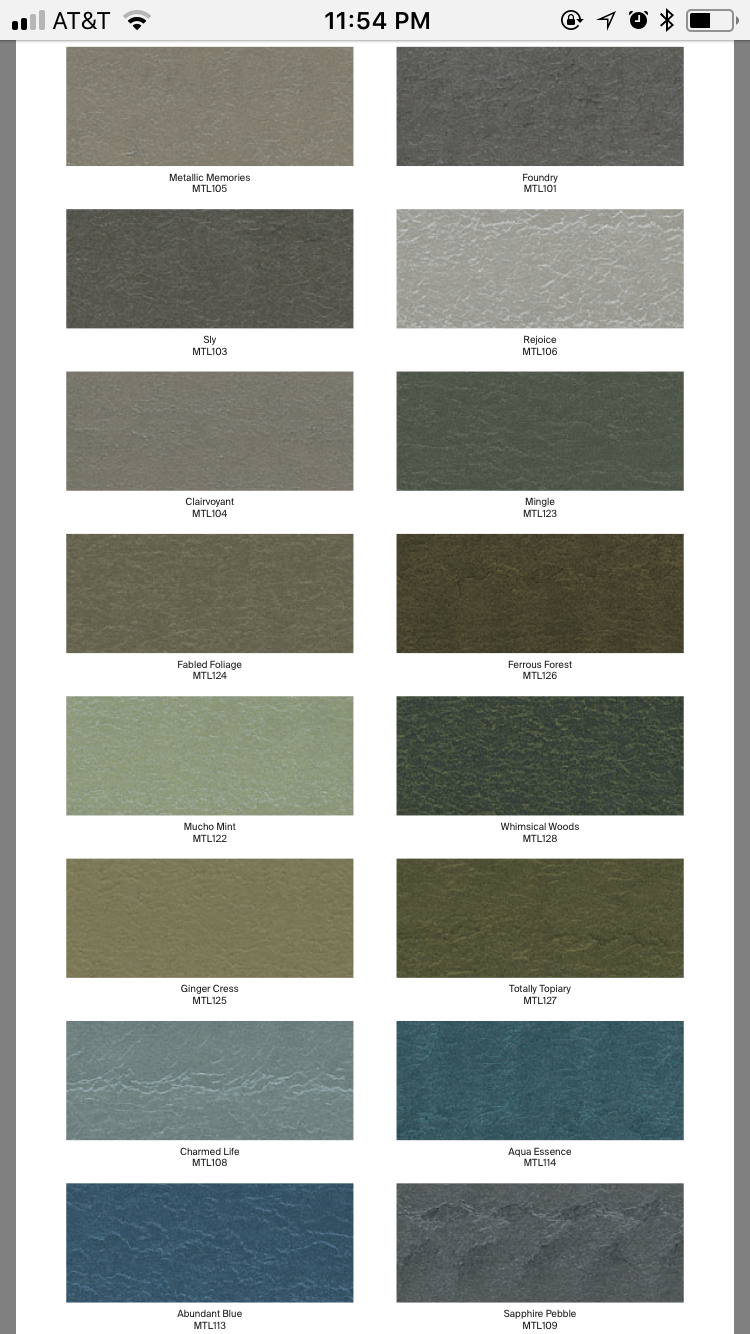 Ppg Metallic Tones Color Palette 3 4 Hello Hallway In 2019