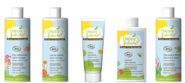 organic baby skin products
