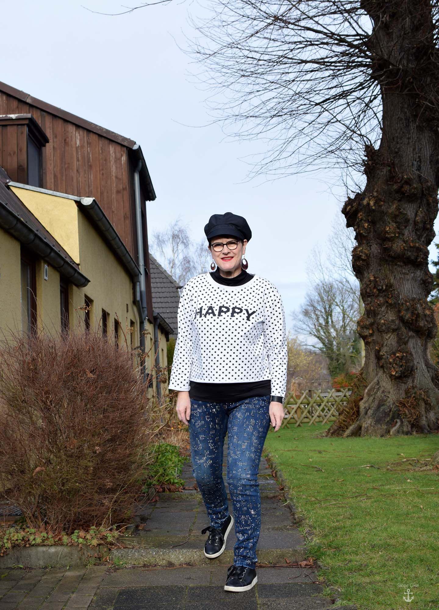 Designer Jeans rockig gestylt und bye bye Google+