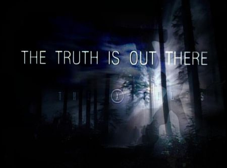 The Truth Is Out There X Files Series Wallpaper Id X Files