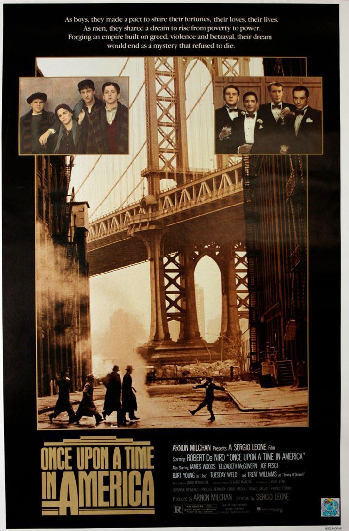 Once Upon A Time In America Cartazes De Cinema Filmes E Cartaz