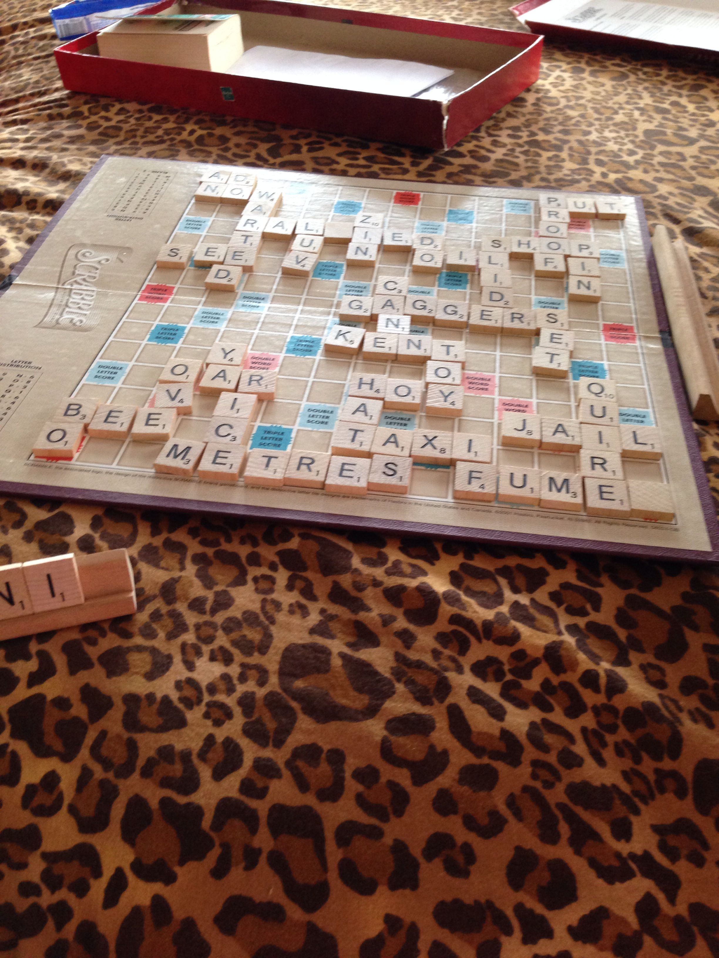 Scrabble Is A Learning Tool That Can Be Used To Build