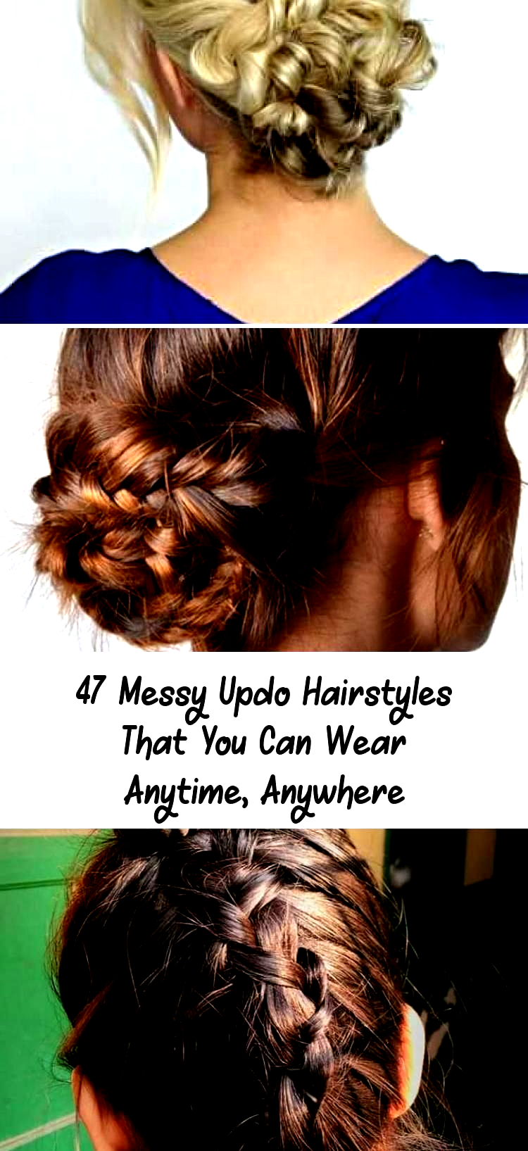 Awesome Messy Updo Hairstyle Tutorial for Thin Hair&; Awesome Messy Updo Hairsty
