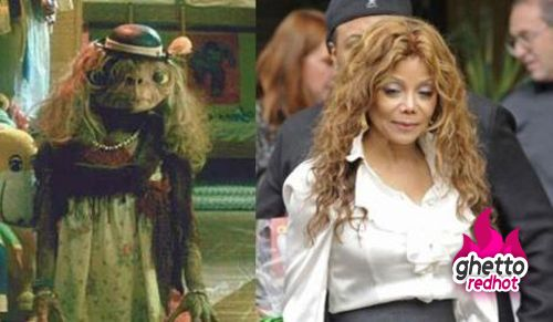 Latoya Jackson look-a-like