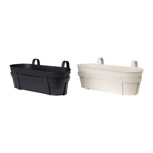 ikea socker blumenkasten mit halter wei schwarz 14 99 outdoor pinterest halter ikea. Black Bedroom Furniture Sets. Home Design Ideas