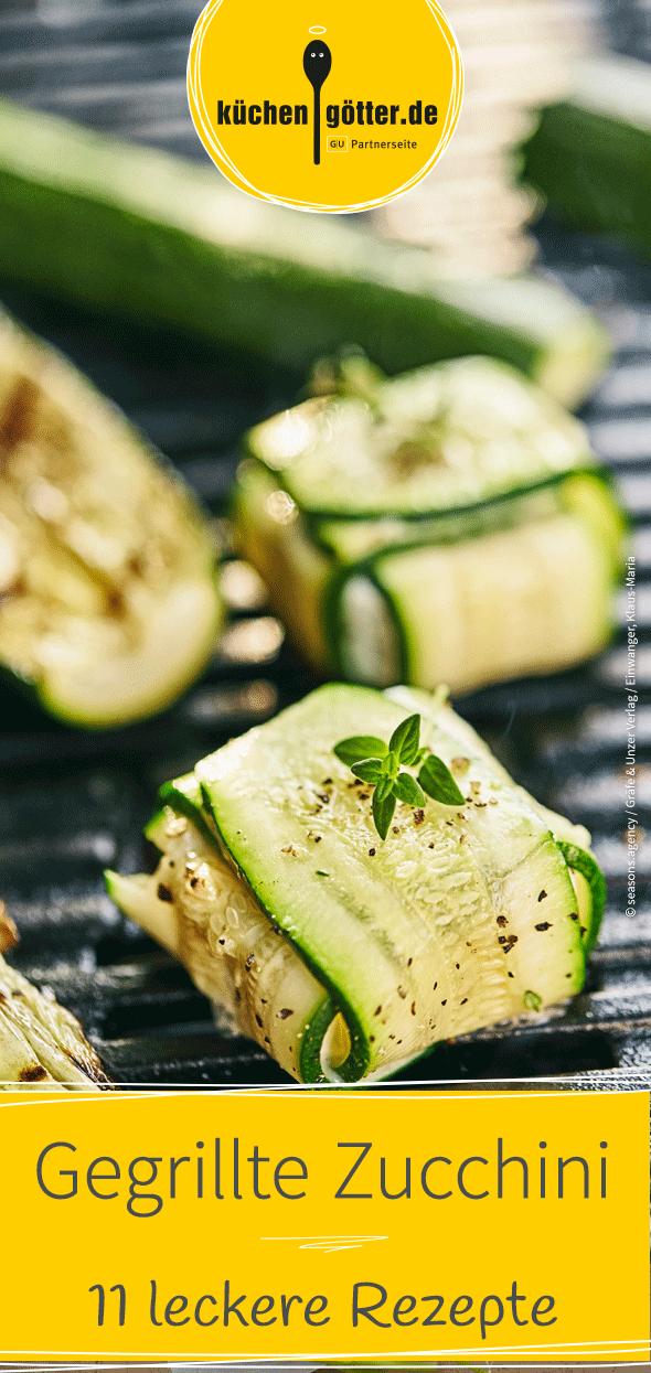 11 Varianten Zucchini zu grillen | Rezepte #vegetariangrilling