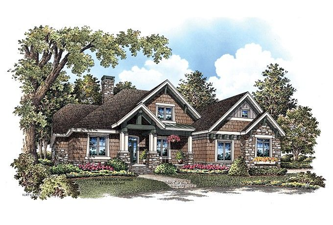 Craftsman Style House Plan 4 Beds 3 5 Baths 3032 Sq Ft Plan 929 908 Craftsman Style House Plans Craftsman House Plans Traditional House Plans