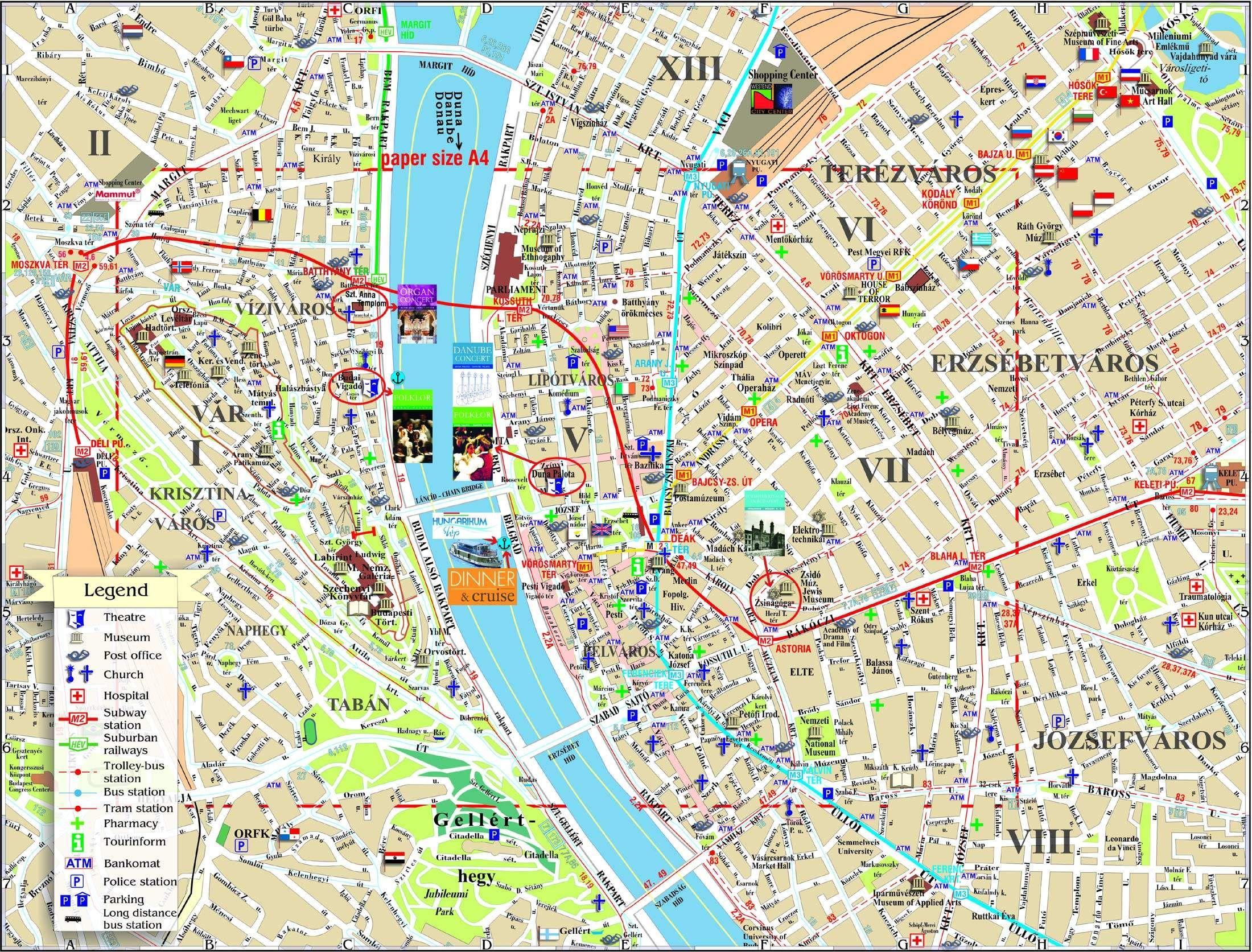 Mapa Turistico Budapest Pdf.Budapest Mapa Turistico Pdf Buscar Con Google En 2019