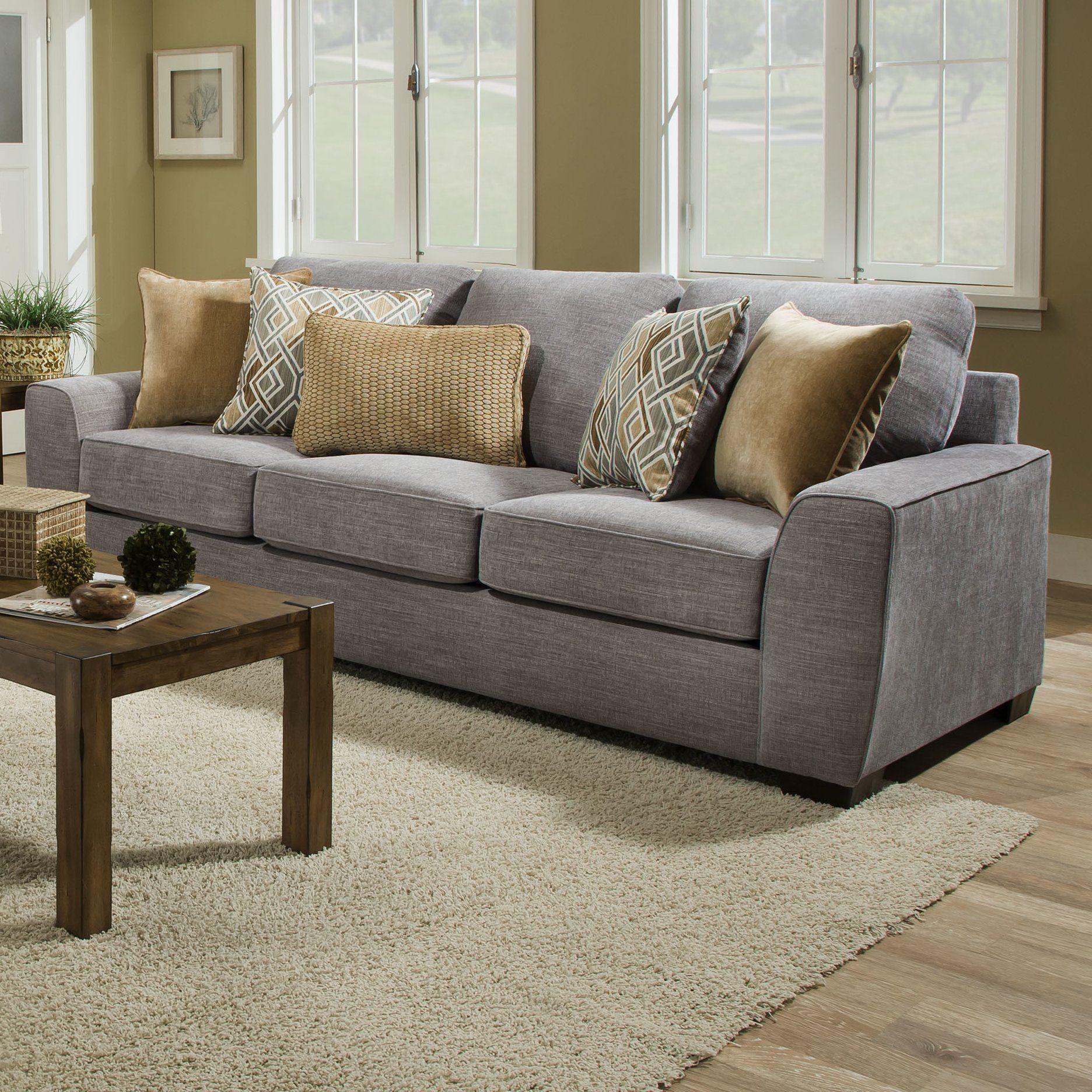 Simmons Harter Sofa - Wayfair - light gray sofa - living ...