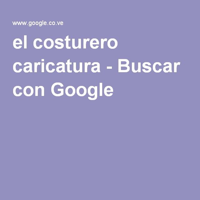 el costurero caricatura - Buscar con Google