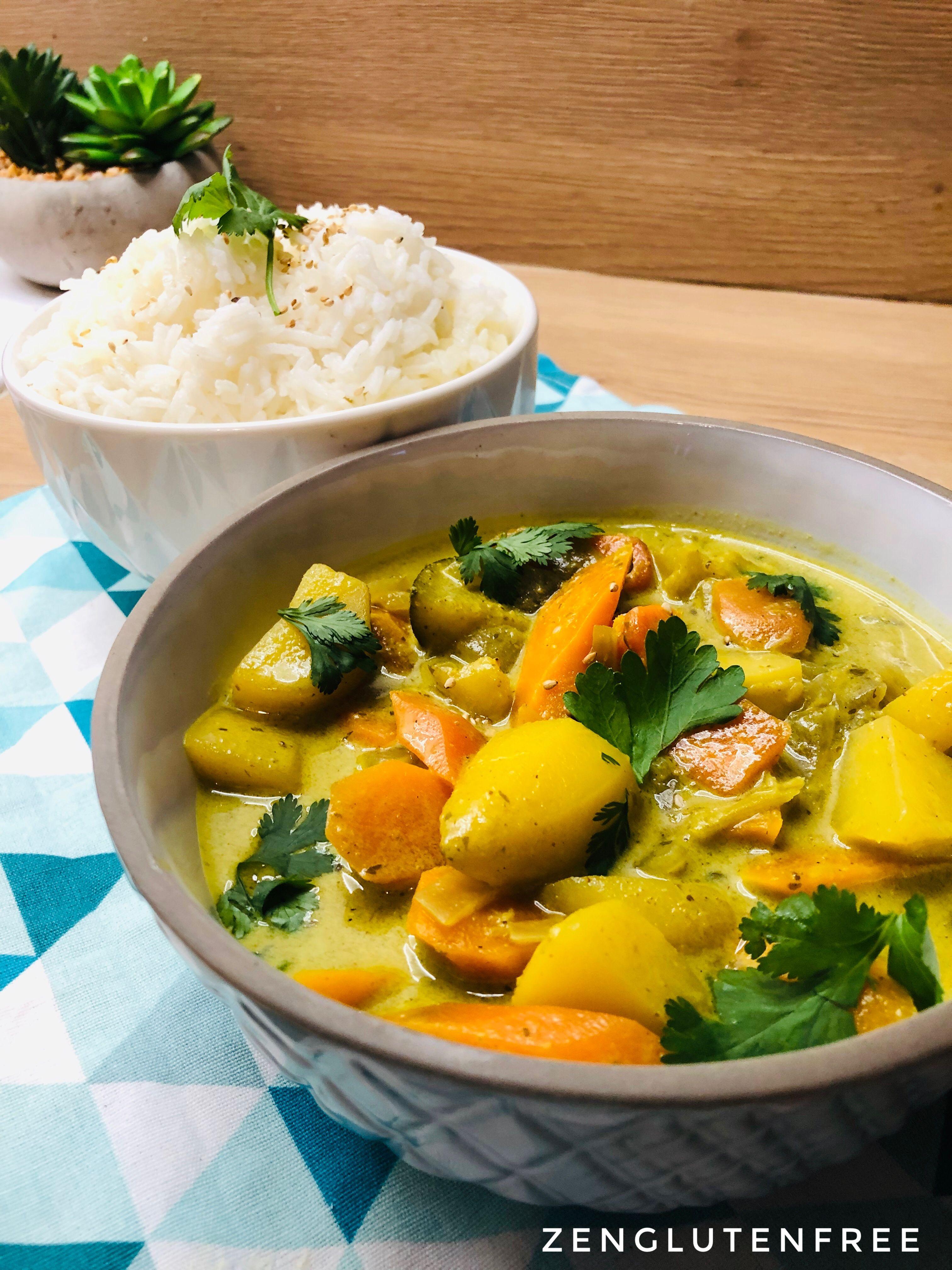 Colombo Vegan | Recette végétarienne rapide, Recette plat végétarien, Ragoût végétarien