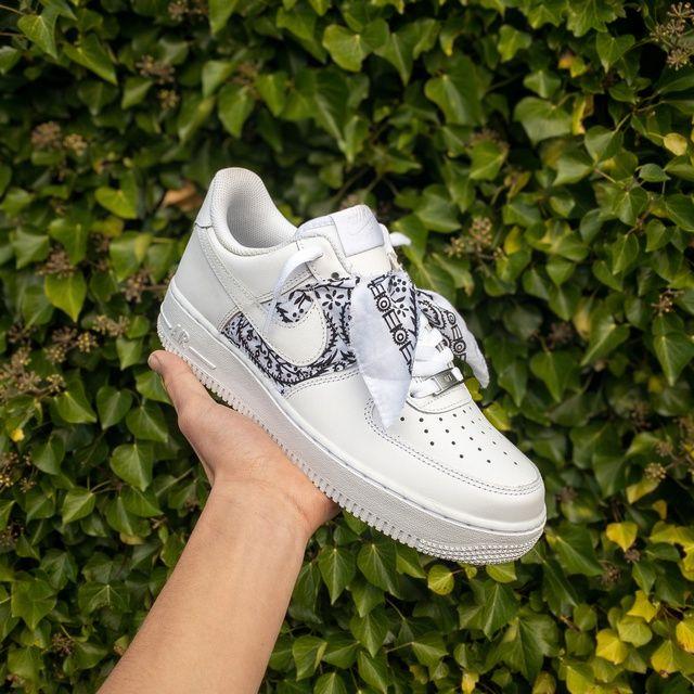Bandana Air Force 1 custom by joebsneakz   Sneakers fashion, Air ...