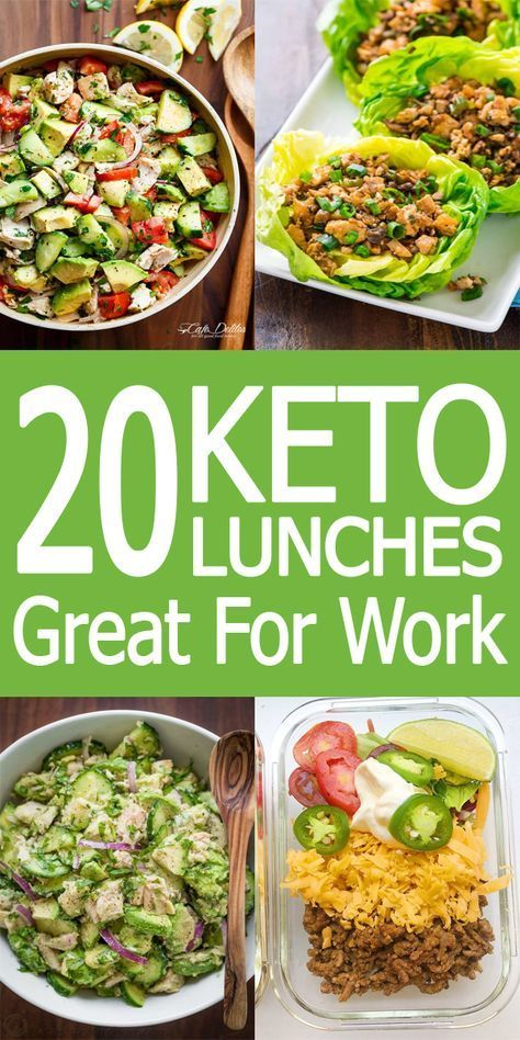 Meal prep your keto lunch with these 20 keto lunch recipes. These are great for meal prepping, packi...