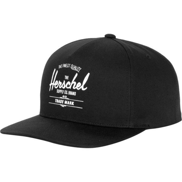 Herschel Supply Whaler Snapback Hat (91.750 COP) ❤ liked on Polyvore featuring accessories, hats, snap back hats, panel hats, herschel supply co. and snapback hats