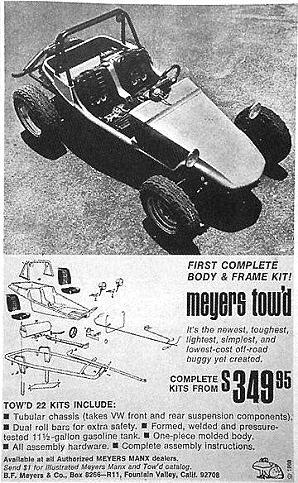 Historique du Buggy Tow\'d – Part.1 | dune buggies | Pinterest | Vw ...