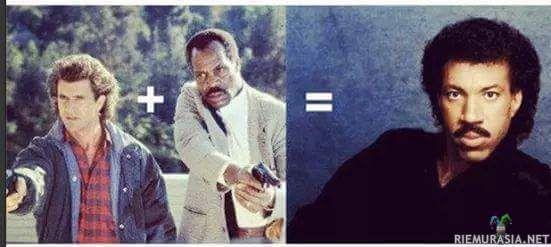 Lionel Richie on Mel Gibsonin sekä Danny Gloverin salainen lapsi?