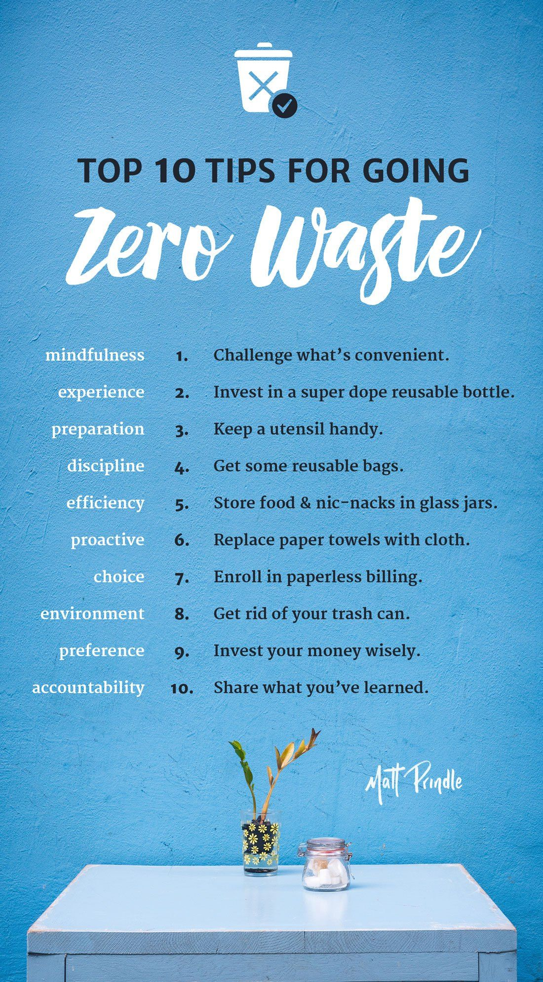 Top 10 Tips For Going Zero Waste Podcast Included Zero